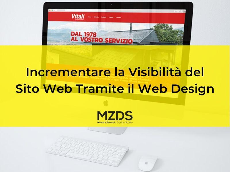 Incrementare la Visibilità del Sito Web Tramite il Web Design