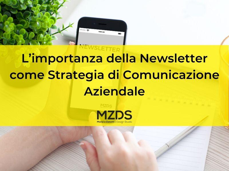 L'importanza della Newsletter come Strategia di Comunicazione Aziendale - Cover